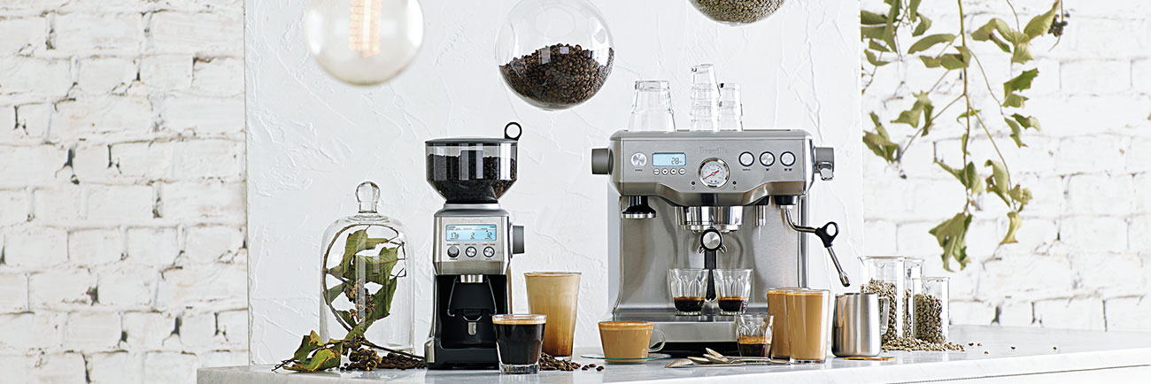 the Dynamic Duo™ Espresso Machine In Brushed Stainless Steel