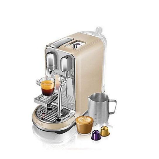 Creatista Nespresso Machine in Royal Champagne