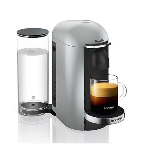VertuoPlus Nespresso in Silver intuitive & easy to use