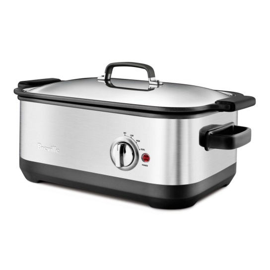 the Slow Cooker with EasySear™ Brushed Stainless Steel