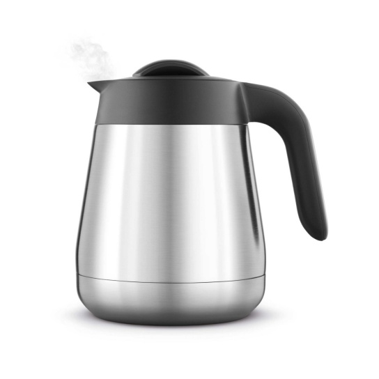the Breville Precision Brewer® Thermal Coffee Machine in Brushed Stainless Steel carafe