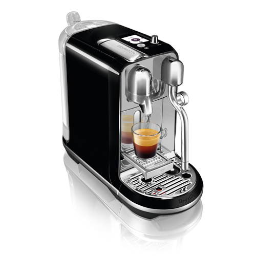 Creatista Nespresso Machine in Salted Liquorice auto clean function