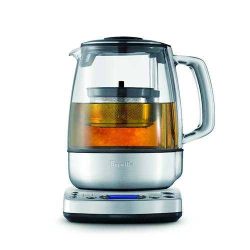 the Tea Maker Tea in Brushed Stainless Steel auto start and keep warm