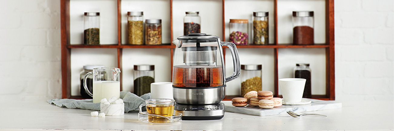 the Tea Maker Tea in Brushed Stainless Steel