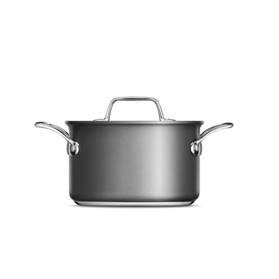 Thermal Pro® Hard Anodized Covered 4qt Saucepot