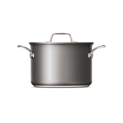 Thermal Pro® Hard Anodized Covered 8qt Stockpot